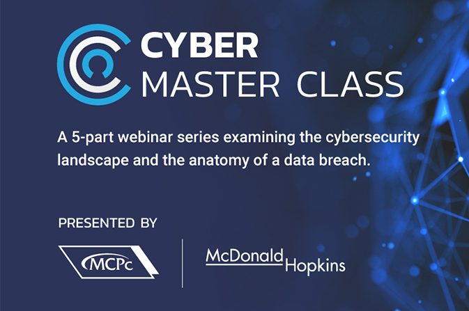 Cyber Master Class Session 5: How it all comes together: The anatomy of a data breach