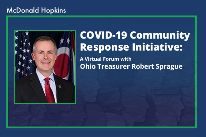 Ohio Treasurer's COVID-19 Community Response Initiative: A Virtual Forum with Robert Sprague